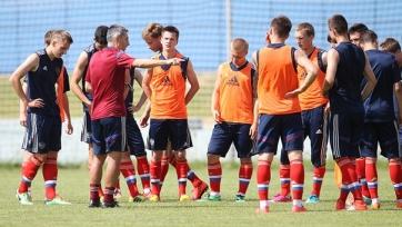 Назван состав юношеской сборной России