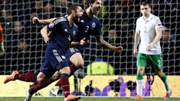 Шотландия выиграла у Северной Ирландии