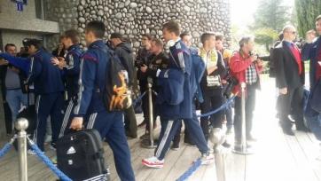 Сборная России успешно добралась до Черногории