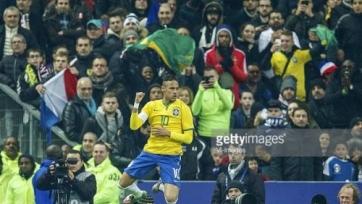 Бразилия обыграла сборную Франции