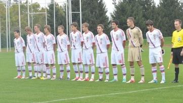 Юношеская сборная России выиграла у бельгийской команды на Евро-2015