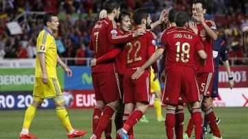Сборная Испании обыграла украинцев