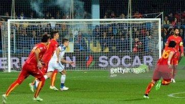 УЕФА может наказать Черногорию техническим поражением