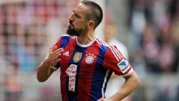 Рибери может не успеть восстановиться к матчу с «Боруссией» из Дортмунда