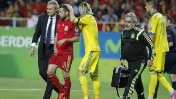 Альба получил травму в сборной