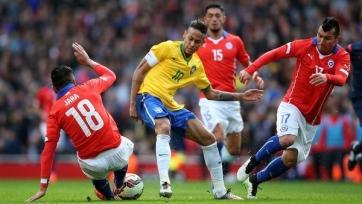 Сборная Бразилии с минимальным счетом обыграла Чили