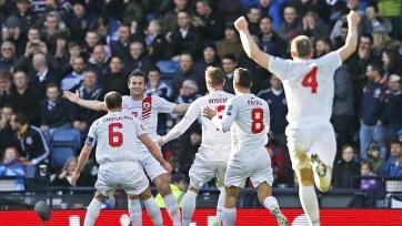 Сборная Гибралтара забила свой первый гол в отборочных турнирах
