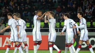 Футболисты сборной Германии недовольны игрой против грузин