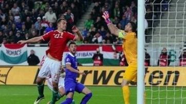 Венгры потеряли очки в матче с греками