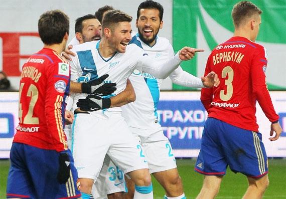 Обратный отсчет: «Зенит» - ЦСКА