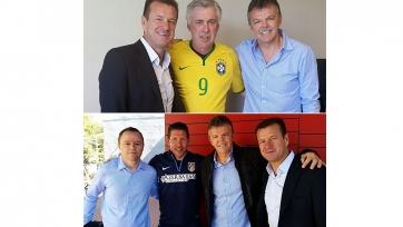 Карлос Дунга побывал в гостях у «Реала» и «Атлетико»