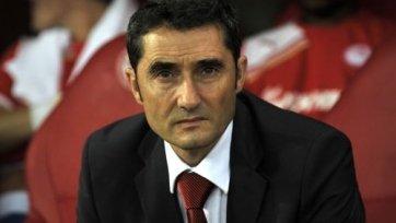 Эрнесто Вальверде – лучший тренер Примеры в марте