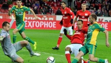 «Спартак» «отскочил» в матче с «Кубанью»