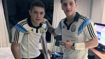 Лидер аргентинской «молодежки» получил травму, играя на… Playstation