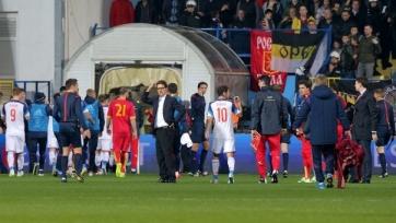 Сегодня может быть объявлено решение по матчу Черногория – Россия