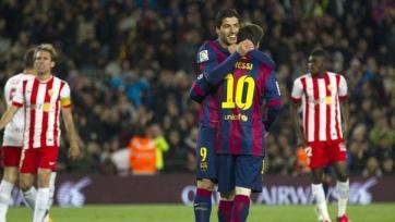 «Барселона» разгромила «Альмерию»