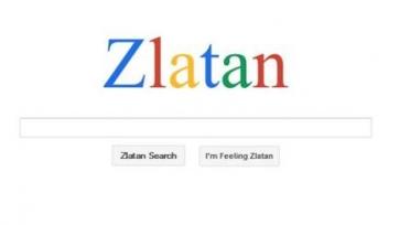 Zlatan Search – новый поисковик про Ибрагимовича
