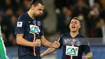 ПСЖ вышел в финал Кубка Франции