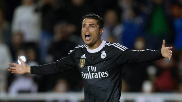 Криштиану Роналду в ближайшем туре Ла Лиги не сыграет