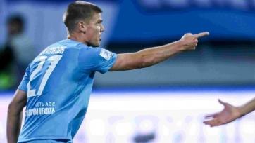 Возвращение Денисова в «Зенит» исключено