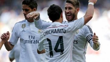 «Реал» ожидаемо выиграл у «Эйбара»