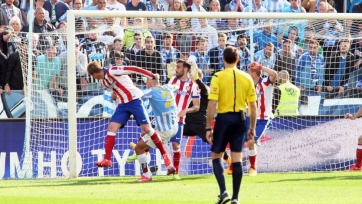 «Малага» отобрала очки у «Атлетико»