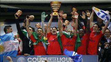 ПСЖ в пятый раз выиграл Кубок Лиги