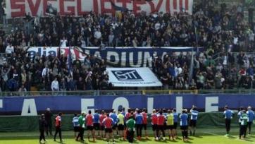 Тифози «Аталанты» прервали тренировку клуба, чтобы призвать футболистов к ответственности за свою игру
