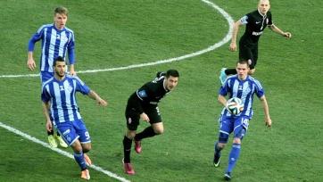 «Динамо» на своем поле сыграло вничью с «Зарей»