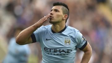 Серхио Агуэро забил сотый мяч в составе «Манчестер Сити»