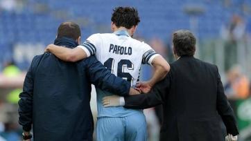 «Лацио» потерял на месяц Пароло и де Врия