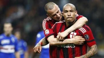 «Милан» с трудом ушел от поражения от «Сампдории»