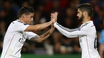Иско и Хамес могут вместе сыграть против «Атлетико»