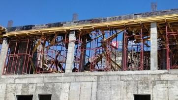 В Волгограде обрушились конструкции строящейся к Чемпионату мира-2018 гостиницы