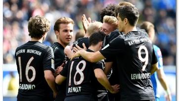 «Бавария» удержала победный счет в матче с «Хоффенхаймом»