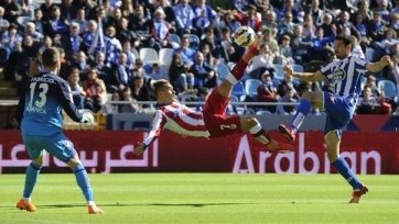 «Атлетико» одержал трудовую победу в Ла Корунье