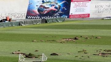 Тифози разгромили стадион клуба Серии В