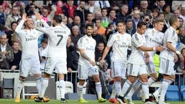 «Реал» расправился с «Малагой»