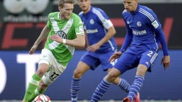 «Вольфсбург» спасся в матче с «Шальке»