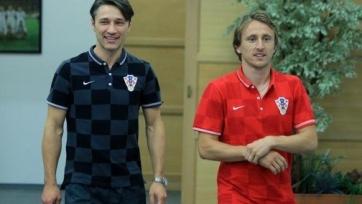 Нико Ковач рассчитывает на Модрича в матче с Италией