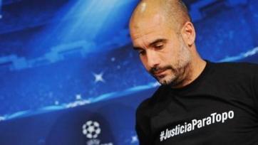 Хосеп Гвардиола требует справедливости
