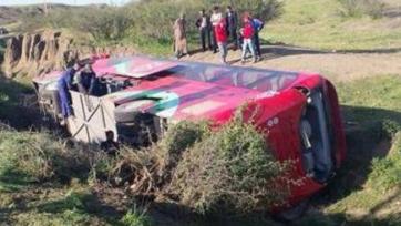 В Марокко автобус с футболистами попал в тяжелую аварию