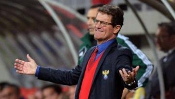 За победу сборной России на домашнем мундиале Капелло может получить 5 млн. евро