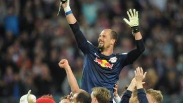 Вратарь «Лейпцига»  стал автором уникального гола
