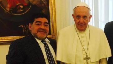 Диего Марадона встретился с Папой Римским