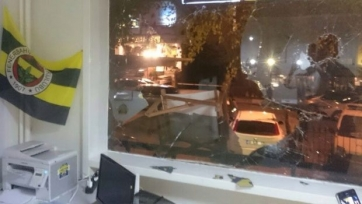 В Анкаре разгромили офис «Фенербахче»
