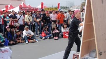 На матче «Спартака» и «Рубина» будет работать японский художник