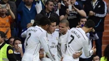 «Реал» разгромил «Альмерию»