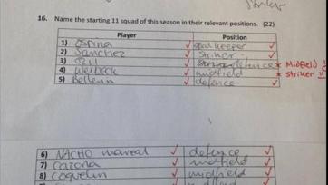 Фанат «Арсенала» заставил свою девушку сдать экзамен по знанию клуба