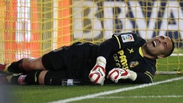 «Вильярреал» до конца сезона потерял основного вратаря